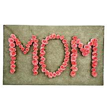 MOM with Roses Design  - Expressluv.in