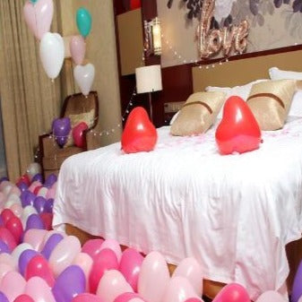 Room Filled with Balloons