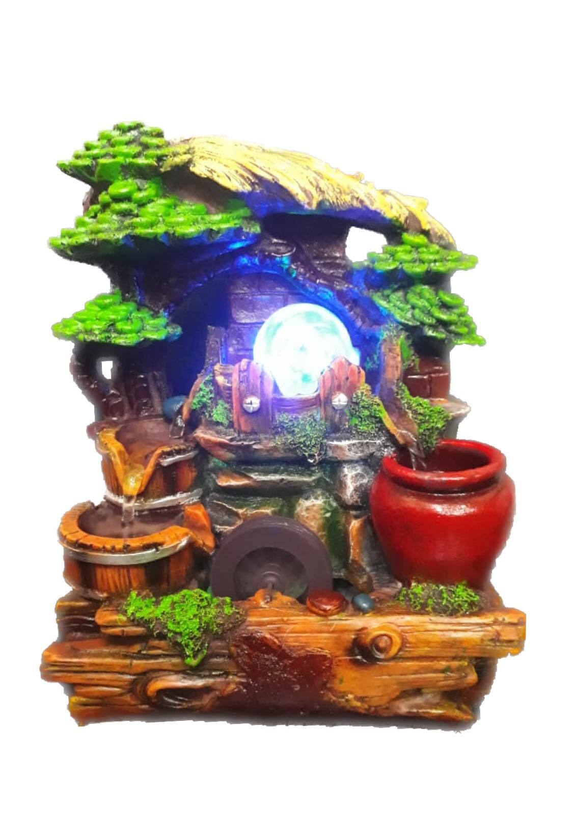 Table Decorative - Crystal ball Bonsai Fountain