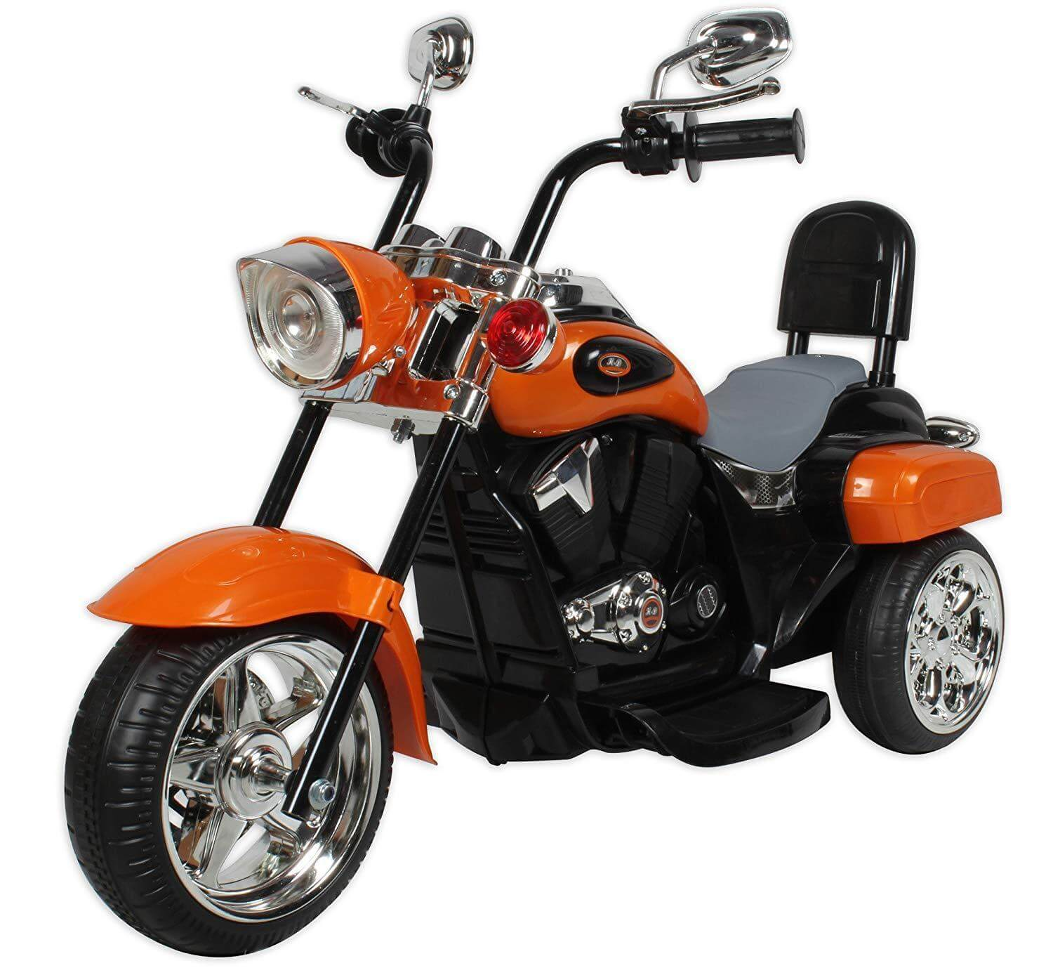 Battery Operated Bike - Orange