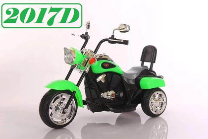 Battery Operated Bike - Green Color
