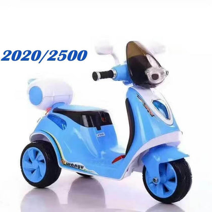 Battery Operated Scooter - Blue