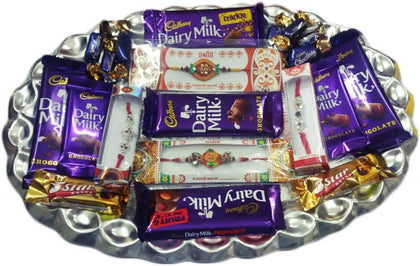 Chocolate Tray and Rakhis