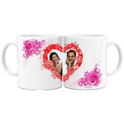 Couple Mug for Love - Personalized Mugs for Valentines Day
