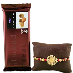 rakhi gifts online. rakhi and chocolate combo
