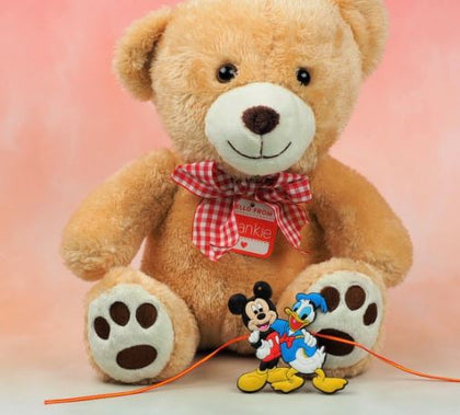 Teddy Bear & Mickey Donld Rakhi