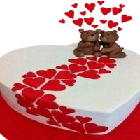 Teddies Love Cake  - Expressluv.in