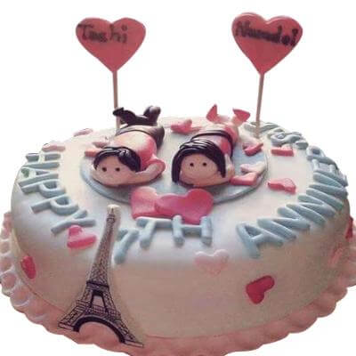 Paris Design Cake