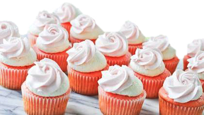 Strawberry Cup Cakes 15 Piece  - Expressluv.in