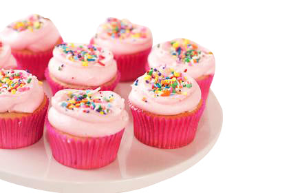 Strawberry Cup Cakes 12 Piece  - Expressluv.in