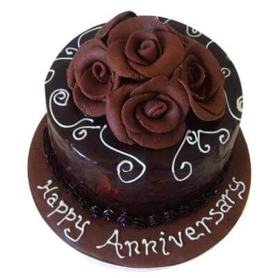 Chocolate Cake for Anniversary