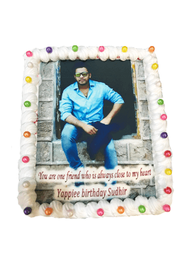 Photo Cake Rectangular Shape