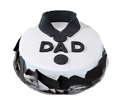 Shirt design cake for dad to order online with free shipping