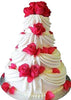 Wedding 3 Step Cake  - Expressluv.in
