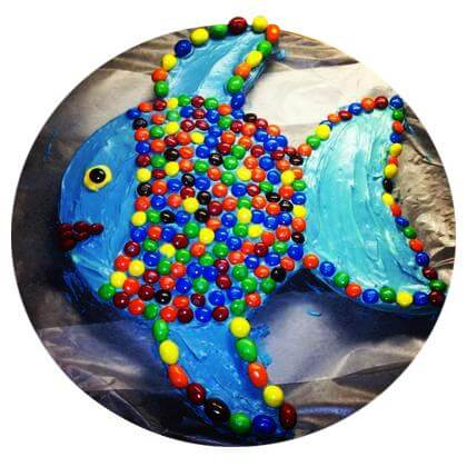 Fish Cake with Gems