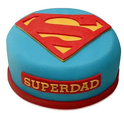 order super dad cake online with expressluv