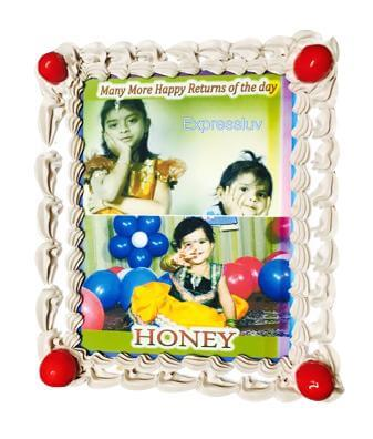 Photo Cake - Rectangle 1 kg