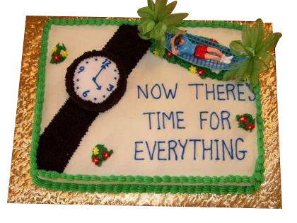 Retirement Cake  - Expressluv.in