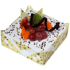 Pineapple Fresh Cream Cake  - Expressluv.in