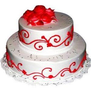 Wedding Cakes 2 Tier  - Expressluv.in