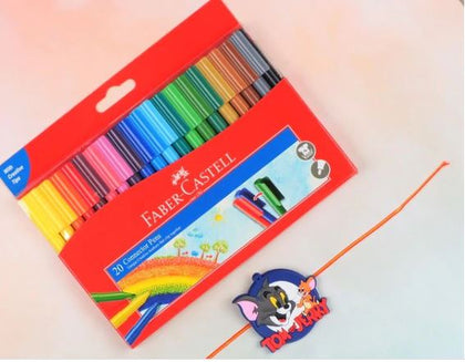 Tom & Jerry Rakhi with Colors