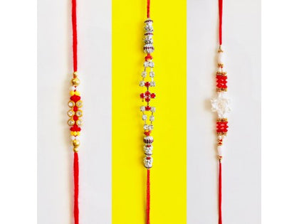 Three designer Rakhi - USA