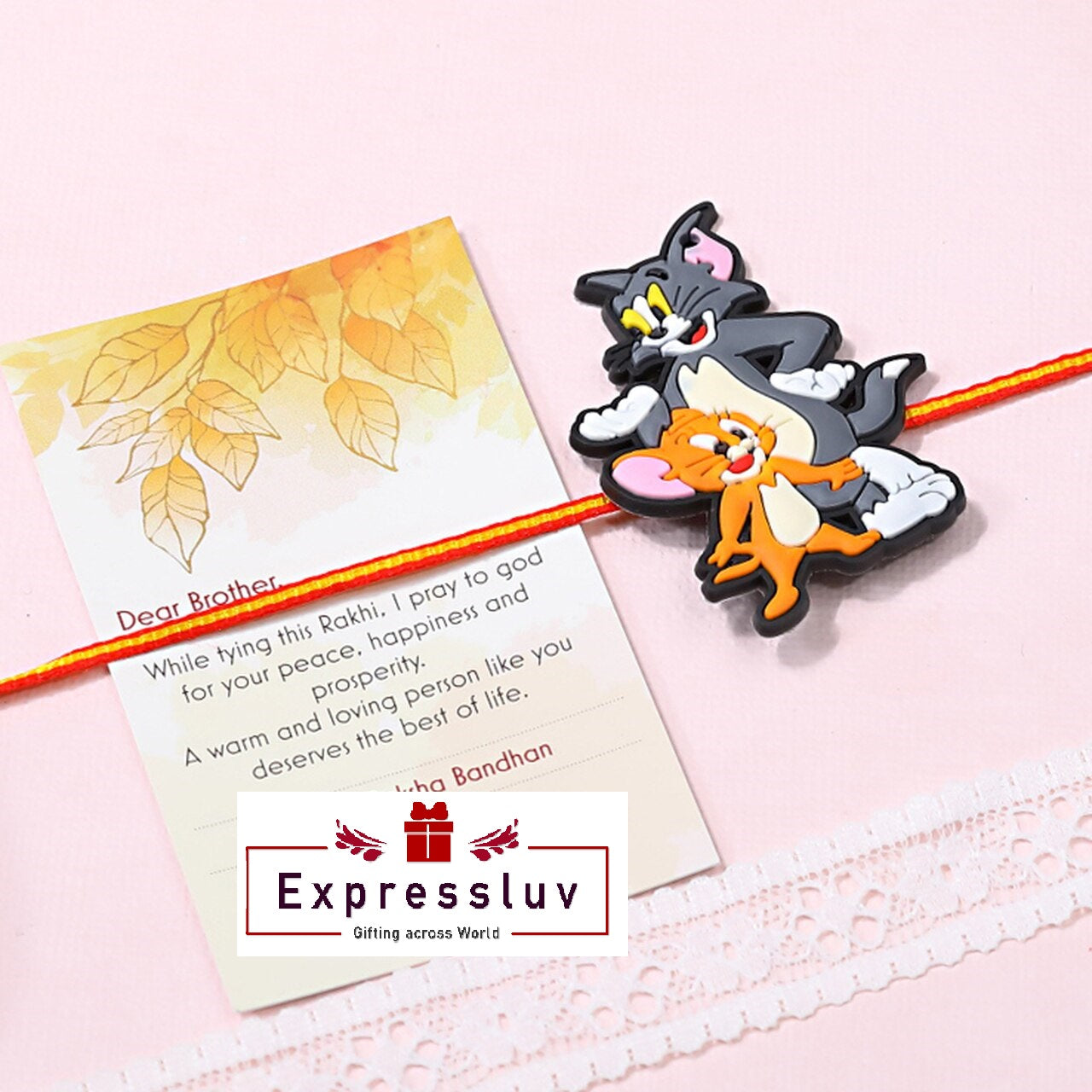 Tom & Jerry Rakhi - FOR NEW ZEALAND