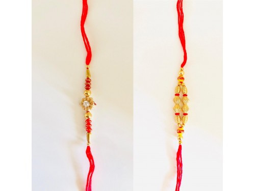 twin Rakhi set 03 - USA