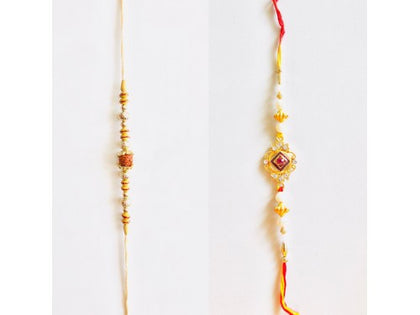 Rakhi set pair 4 - USA