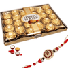 Ferrero Rocher 24pc with Rakhi