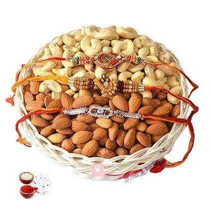 Dry Fruits Rakhi Gift