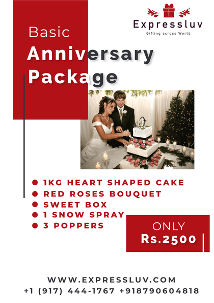 Basic Anniversary Package