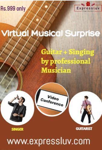 Musical Surprise (Singing + Guitar Music)