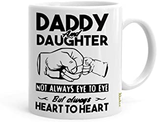 Daddy and daughter personalized mug, send gifts for dad online
