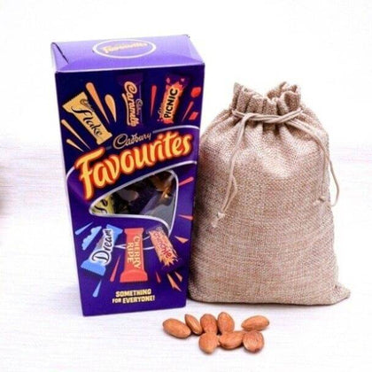Cadbury's Favourite Chocolate and Almond Nuts Hamper - FOR NEW ZEALAND
