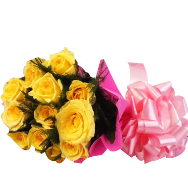 Yellow Roses Swarm  - Expressluv.in