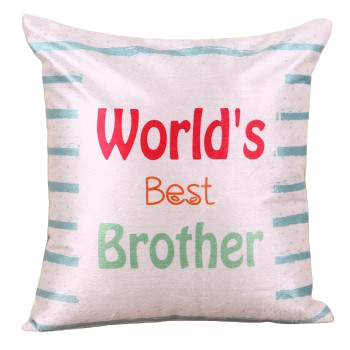 World's Best Brother Pillow