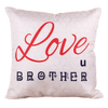 Love u Brother - Personalized Pillow