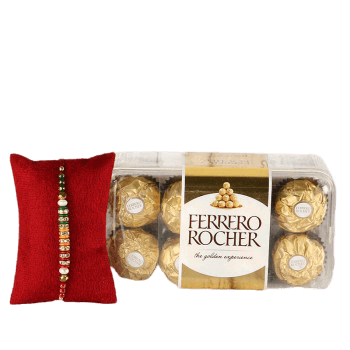 Ferrero Rocher 16pc and Rakhi