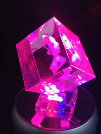 Crystal Cut Cube
