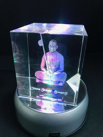 Personalized Sqaure Crystal CUbe