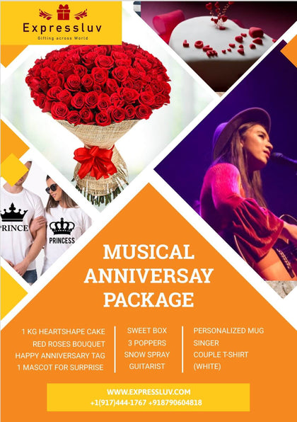 Musical Anniversary Package