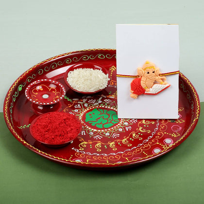 Krishna Cartoon Rakhi with Dry Fruit- UK