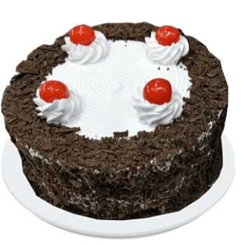 Yummie Black Forest Delight Cake 500 Grams
