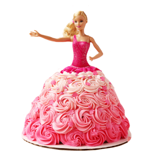 Doll Design Cake for You