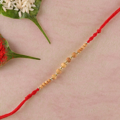 Traditional Sandalwood Rakhi  To Europe