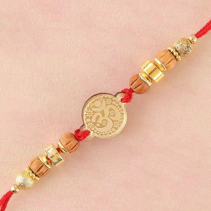 Traditional Aum Rakhi  To Europe