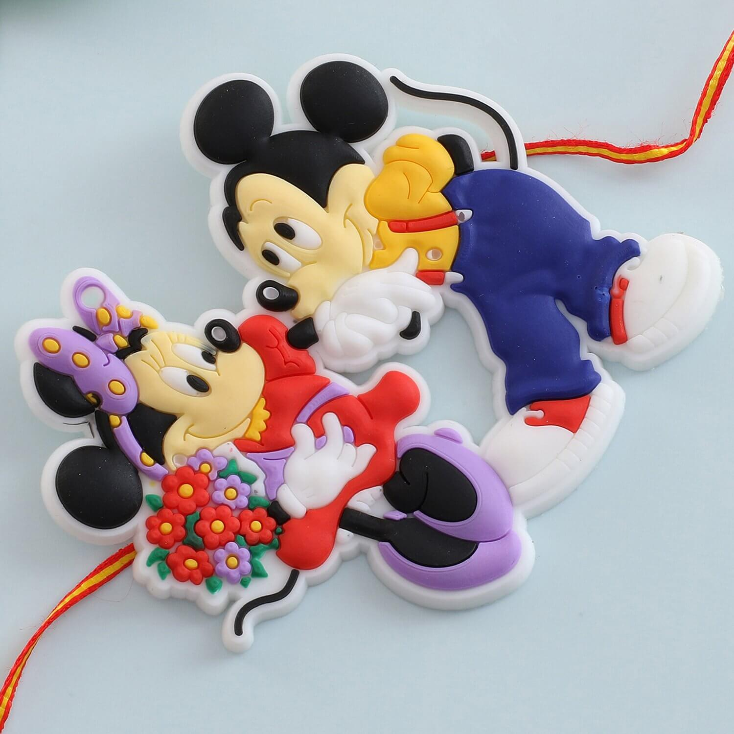 Micky Mouse Cartoon Rakhi  To Europe
