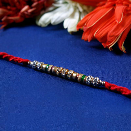 Traditional Fancy Rakhi Thread  To Europe