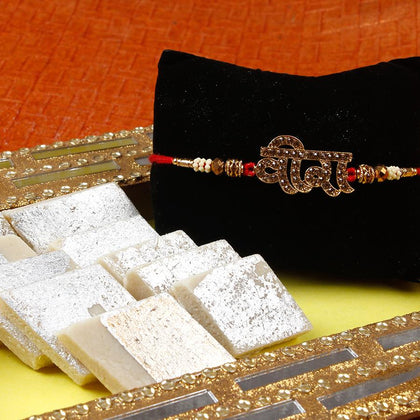 Veera Rakhi Sweet Hamper To Europe